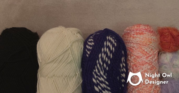 What Type of Yarn is Best for Beginner Crocheters Blog Sharing Image Night Owl Designer