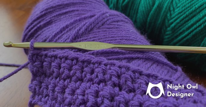 Why Yarn Weight, Hook Size and Tension Matter Night Owl Designer Blog Featured Image